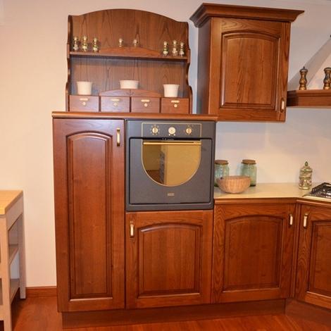 Cucina in legno massello 4790 cucine a prezzi scontati - Piano cucina legno massello ...