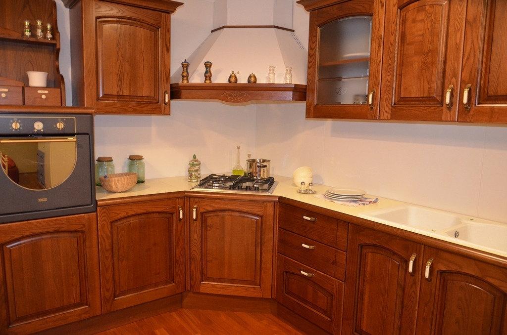 Cucina in legno massello 4790 cucine a prezzi scontati - Legno per cucine ...