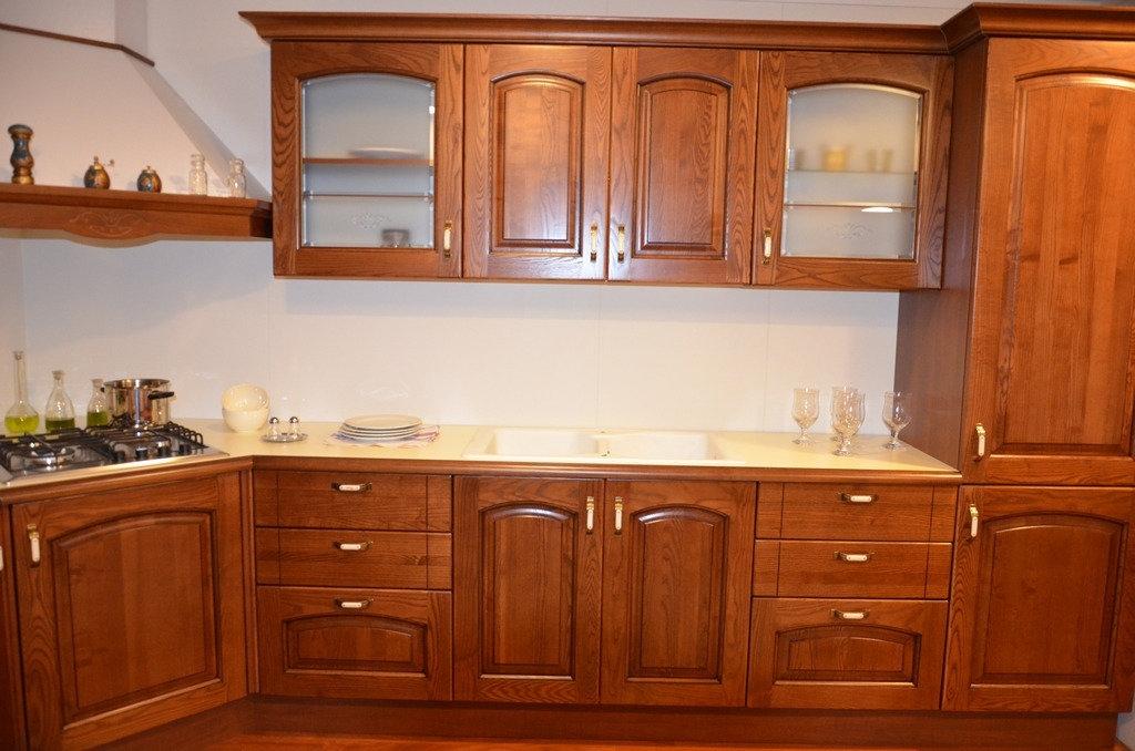 Cucina in legno massello 4790 - Cucine a prezzi scontati