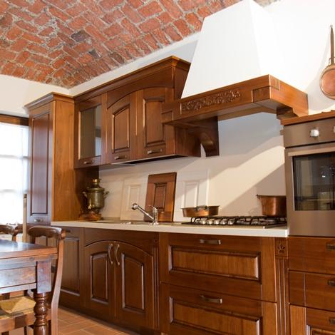 cucina in legno massello - Cucine a prezzi scontati