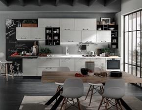 Cucina in legno MODELLO QUADRA
