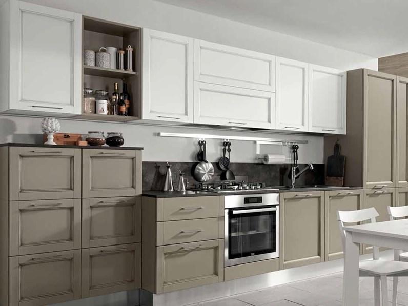Cucina in legno provenzale cucina shabby spring chic in offerta tortora di nuovi mondi cucine - Le cucine di mondo convenienza ...