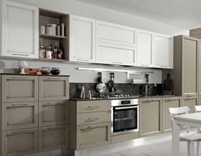 Cucina in legno provenzale cucina shabby spring chic in offerta tortora di Nuovi mondi cucine