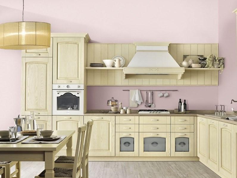 Cucina in legno stosa cucine a prezzi outlet for Cucine di design outlet