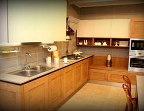 Cucina in legno Veneta cucine a PREZZI OUTLET