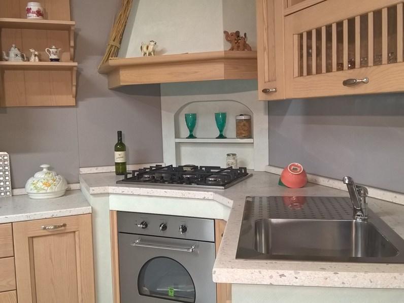 Cucina in muratura ad angolo asolo dibiesse scontatissima - Cucine faber prezzi ...