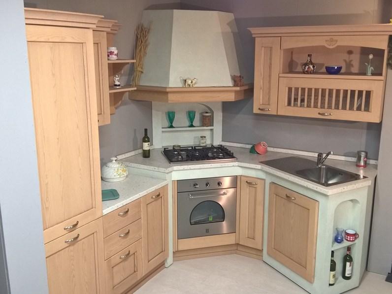 Cucina In Muratura Con Piano Cottura Ad Angolo.Cucina In Muratura Ad Angolo Asolo Dibiesse Scontatissima