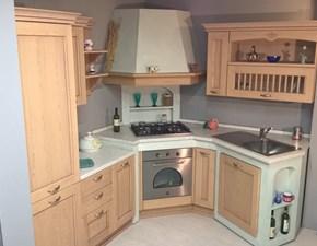 Cucina in muratura ad angolo Asolo Dibiesse scontatissima