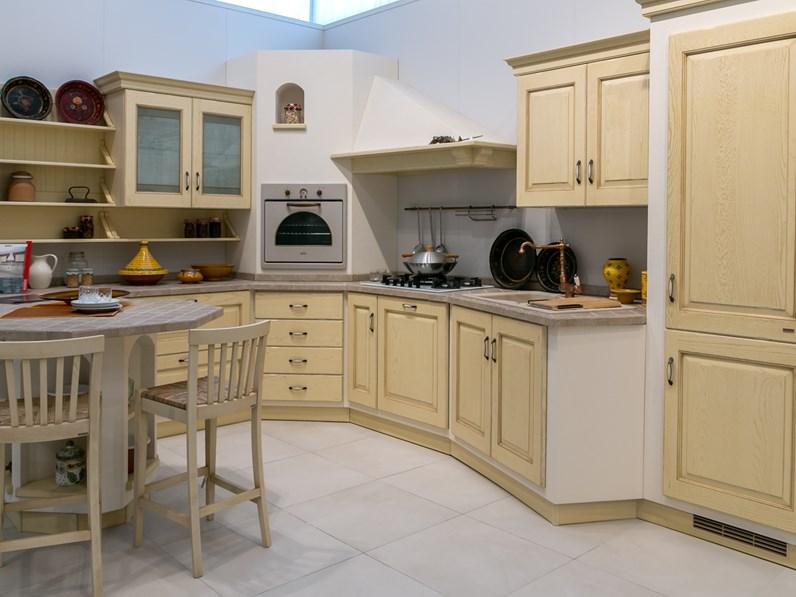 Cucina in muratura scavolini modello belvedere scontata - Modelli di cucina in muratura ...
