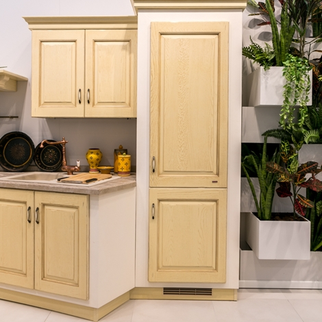 Cucina in muratura scavolini modello belvedere scontata - Cucine muratura scavolini ...