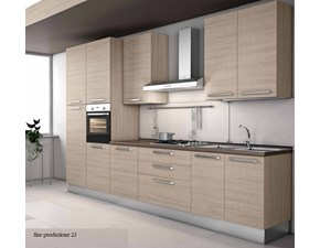 Cucina in nobilitato Md work a PREZZI OUTLET