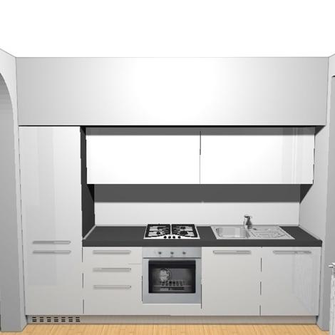 Cucine Componibili ged cucine componibili : cucina in offerta mod. Space - Cucine a prezzi scontati