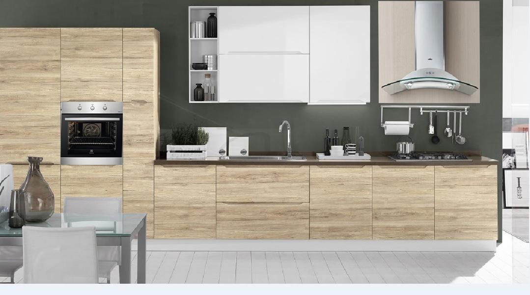 Cucina Compatta Prezzi. Cucine Mo Locco Cucina Mobili Funzionalit ...