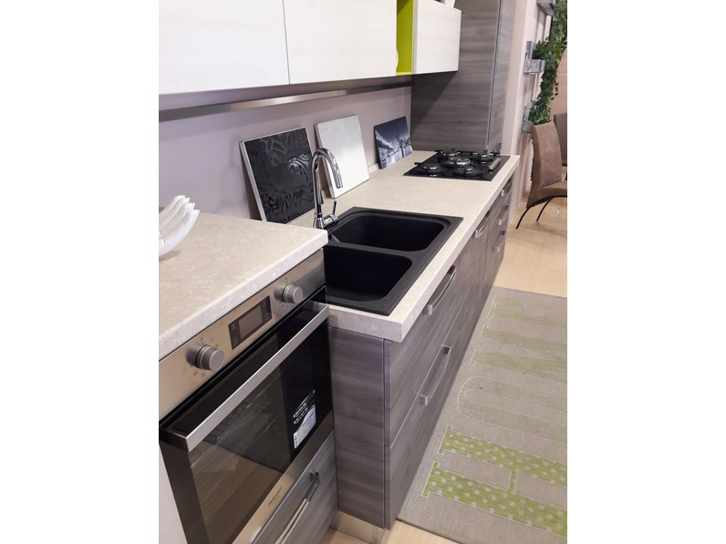 Cucina in polimerico opaco mobilturi cucine a prezzi outlet - Cucina oceano mobilturi prezzi ...
