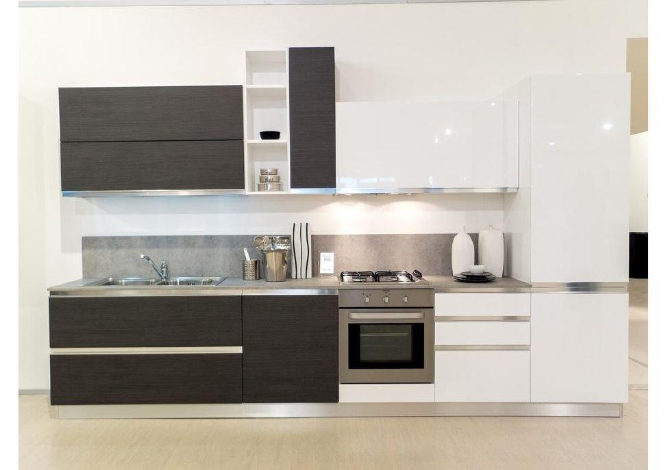 Cucina in promozione cm 360 cucine a prezzi scontati - Cucine moderne bicolore ...