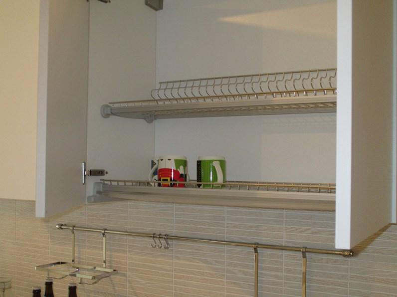 Cucina con gola modello joy marca gicinque a 3700 00 euro for Fontana arreda