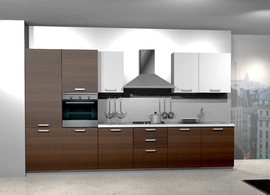 Cucina in pronta consegna Record Cucine, RCPP341, nuova a prezzo ...