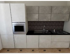 Cucina in resina cementizia Astra cucine a PREZZI OUTLET