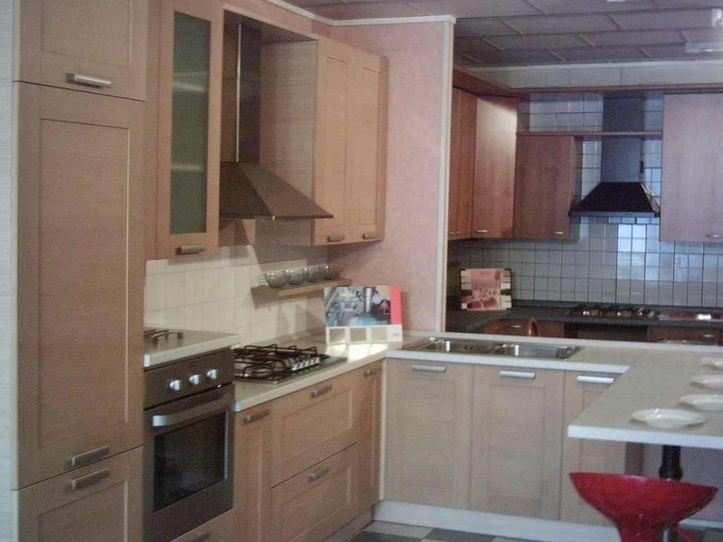 Cucina Rovere Bianco. Latest Cucina In Rovere Bianco Opaco With ...
