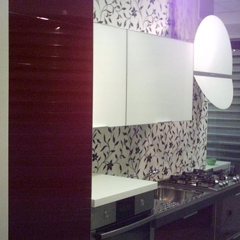 Cucina in vetro cucine a prezzi scontati - Vetro temperato cucina ...