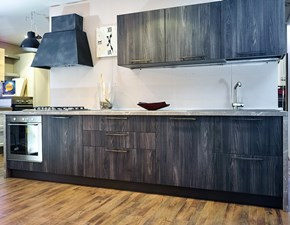 cucina industrial grey zen lineare modern ain offerta outlet nuovimondi