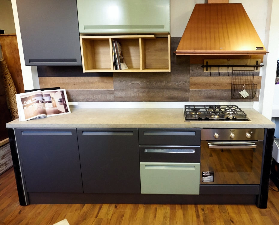 Granite grigio - Cappa cucina moderna ...