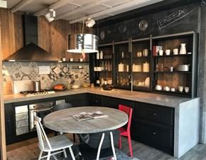 Cucina industriale altri colori Marchi cucine ad angolo Brera in Offerta Outlet