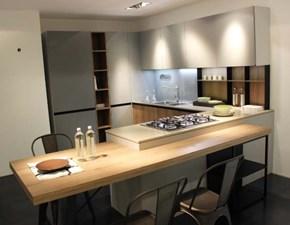 Cucina industriale con penisola Arredo3 Kalì a prezzo scontato