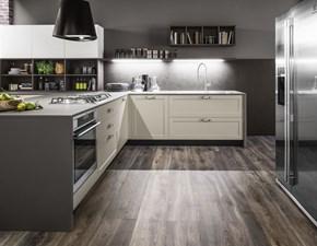 Cucina industriale grigio Colombini casa ad angolo Cucina ad angolo con numerosi elementi per infinite combinazioni. scontata