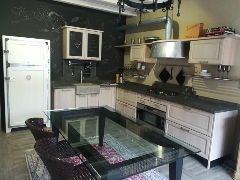 Cucina industriale mod 1956 rovere chiaro marchi cucine for Cucine di marca