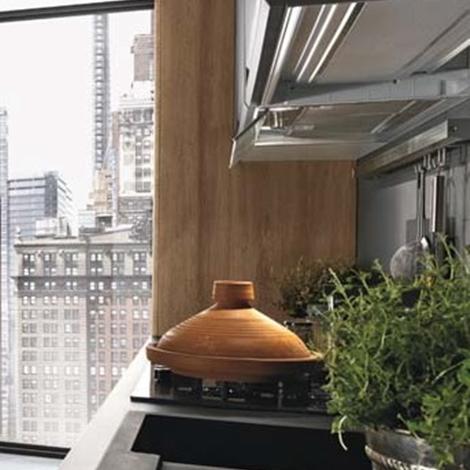 Cucina industriale moderna lineare in offerta convenienza outlet ...