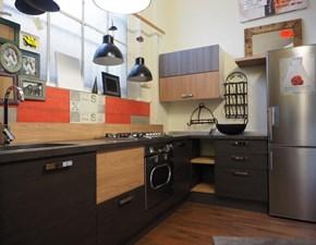 cucina angolo moderna industrial