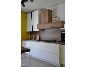 Cucina Infinity design bianca lineare Stosa cucine