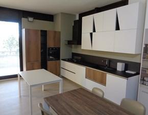 Cucina Infinity moderna bianca ad angolo Stosa cucine