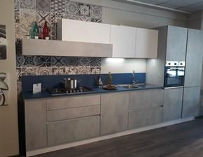 Cucina Infinity moderna grigio lineare Stosa cucine