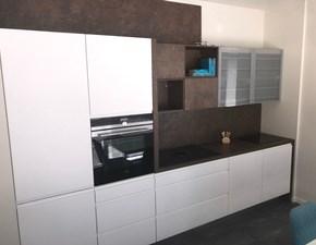 Cucina Inline moderna bianca lineare Artigianale