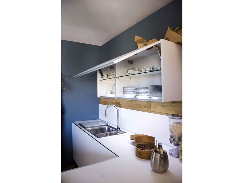 Cucina integra demode by valcucine composizione angolare con