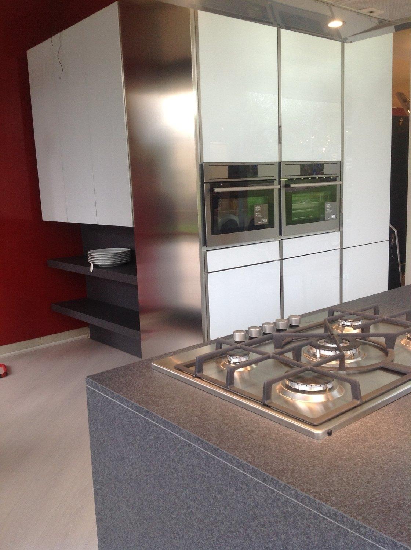 Cucina isola Velvet vetro - Cucine a prezzi scontati