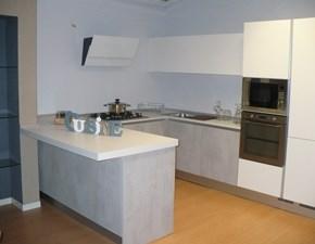 Cucina Joy moderna grigio ad angolo Maior cucine