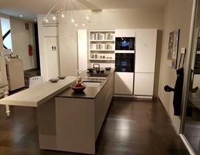 Cucina Kalì design bianca con penisola Arredo3