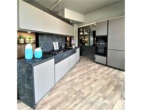 Cucina Kronos moderna grigio lineare Arredo3