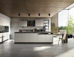Cucina * kubika moderna grigio ad isola Gm cucine