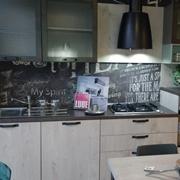 parete lineare cucina creo mod. kyra