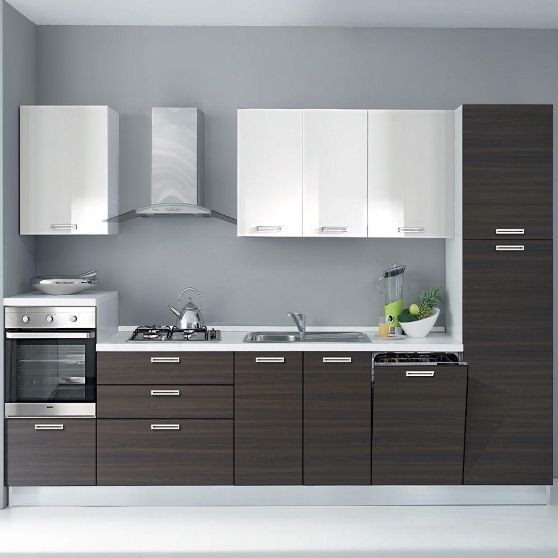 Cucine Moderne Lineari : Cucina kappa laccato lucido cucine a prezzi scontati