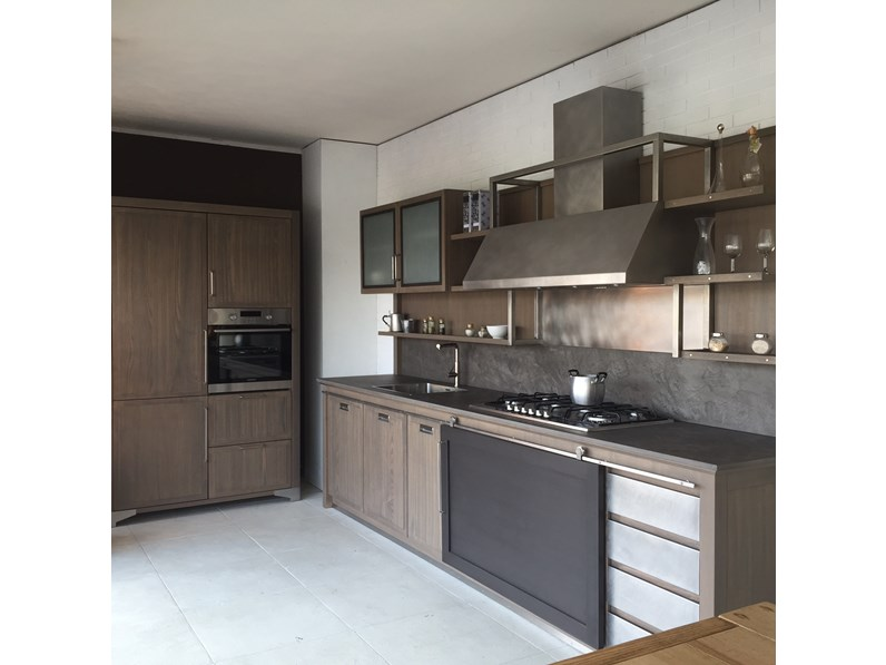 Cucina L\'ottocento Industrial chic - Cucine a prezzi scontati