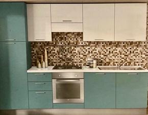 Cucina L01 moderna bianca lineare Colombini