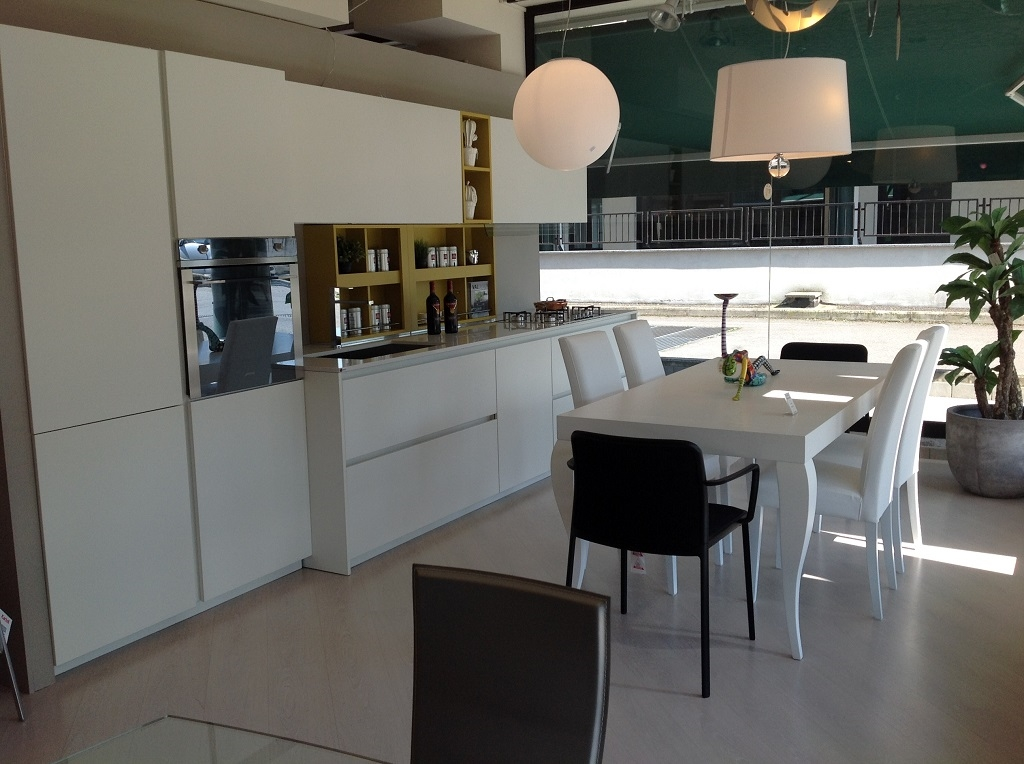 Best cucina laccata bianca gallery ideas design 2017 - Cucina laccata bianca ...