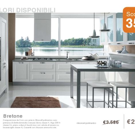 Cucina laccata bianco opaco cucine a prezzi scontati - Cucina bianco opaco ...