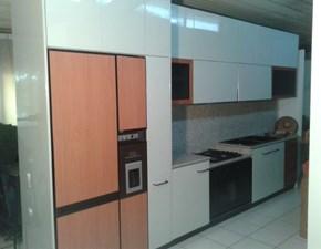 Veneta Cucine Cucina Cucina extra laccata lucido grigio perla Moderno Laccato Lucido Neutra