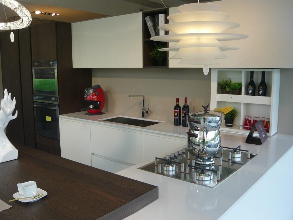 Valdesign cucine cucina laccata bianca olmo caff 39 scontato del 40 cucine a prezzi scontati - Cucine valdesign ...